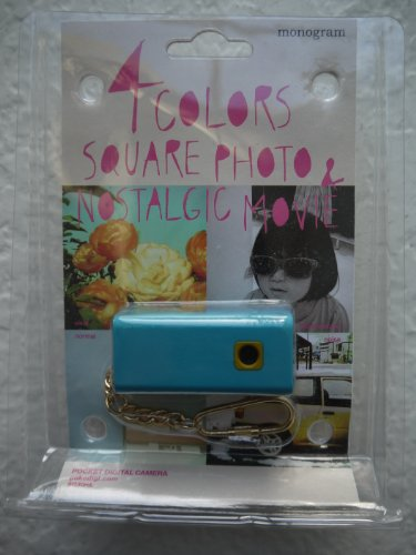 Pocket Digital Lomo Camera with Keychain SQ30m - Navy