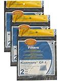 Kenmore- Sears Progressive Foam Filter Cf1, Progressive & Whispertone, Panasonic Vacuum Cleaners, 86883, 86880, 20-86883, 2086883, 8175084