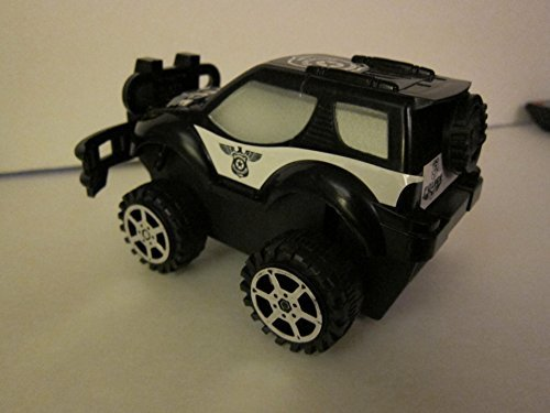 Jumbo Truck Friction 4 Wheeler Police Vehicle - 1