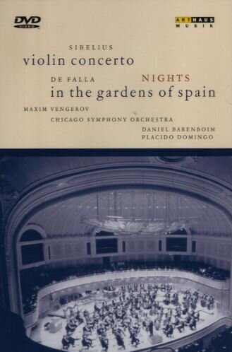 Violin Concerto / Nights In Gardens [DVD]