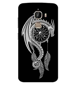 ColourCraft Dragon Art Design Back Case Cover for LeEco Le 2