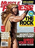 Muscle and Fitness Magazine September 2014 - Dwayne Johnson The Rock on Cover - Big Arms in Just 2 Moves - 30 Days to a Perfect Body