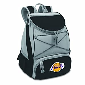 NBA Los Angeles Lakers PTX Insulated Backpack Cooler by Picnic Time