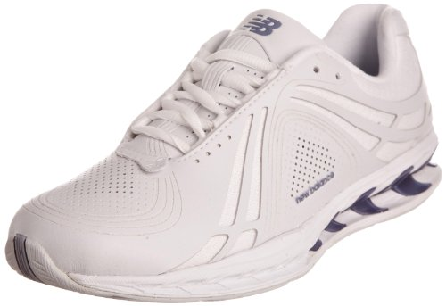 New Balance Women's WW1100WT White/Blue Trainer WW1100WT 4 UK, 36.5 EU, 6 US