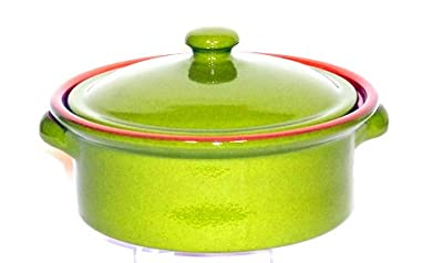 Genuine Terracotta 2l Casserolestew Pot - Rio Green by Be-Active