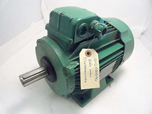 Leroy Somer 3-Ls100L-T Motor, 3.6Kw 440V (Damaged Case)