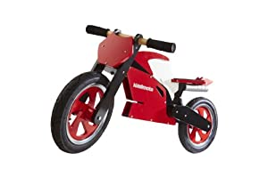 Kiddimoto Superbike Balance Bike, Red