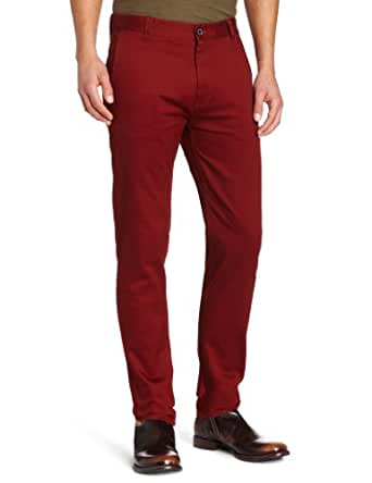 Moods of Norway Men's Peder Chino Pant, Bordeaux, 30