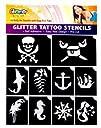 Pirates and Mermaid Glitter Tattoo St…