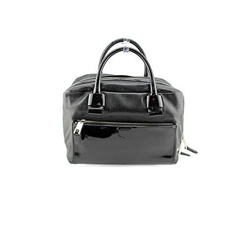 Marc Jacobs Small Antonia Womens Black Purse Leather Satchel