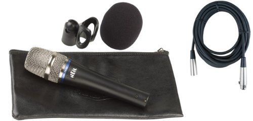 Heil Pr22-Ut (Utility) Microphone W/Vinyl Carrying Bag, Microphone Clip, Windscreen, And 20' Xlr Cable!