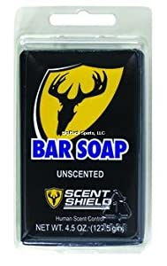 SCENT SHIELD SB Bar Soap Clam, 5-Ounce by Scent Shield