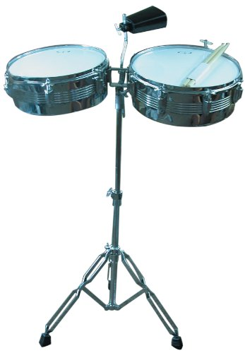 GP Percussion LT156 Timbale Drum Set