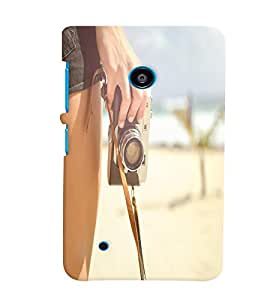 Nokia Lumia 530 MULTICOLOR PRINTED BACK COVER FROM GADGET LOOKS