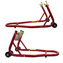 Big Sale Best Cheap Deals New Motorcycle Bike Stand Front & Rear Swingarm Lift Set