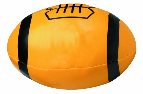 Bags for LessTM Mini Soft Foam Football Yellow with Black Laces