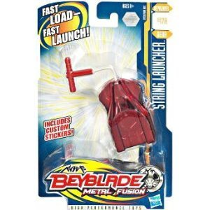 Beyblade metal fusion red string launcher bb17a 29739 amazon co uk