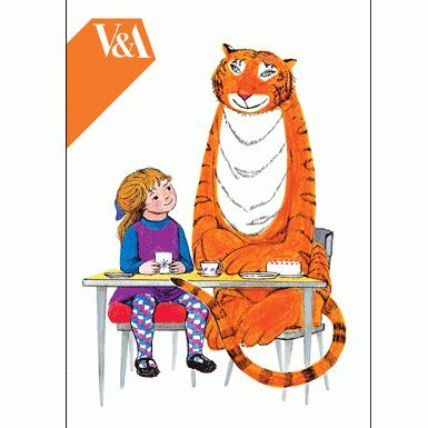 Mog/ The Tiger Who Came To Tea' Notecard Wallet||RF10F