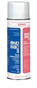 DISINFECTANT, SPRAY, END BAC II