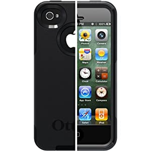 OtterBox Commuter Series Case for iPhone 4/4S  - Retail Packaging - Black