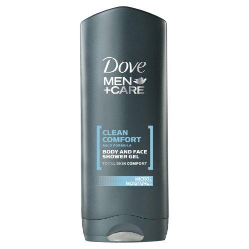 Dove Men+Care Bodywash Clean Comfort 250 ml (Pack of 6)