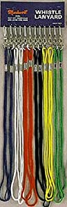 Markwort Whistle Lanyards - 1 Bag of 100 Lanyards by Markwort
