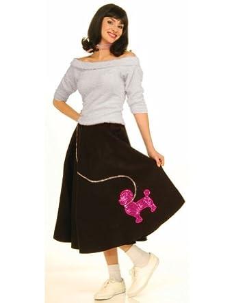 Amazon.com: Sock Hop Top Pink Adult Womens Costume: Adult Sized
