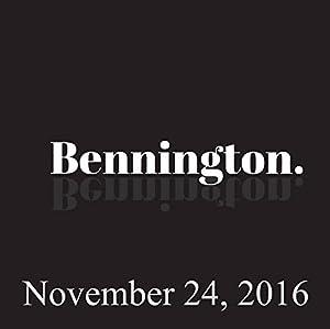 Bennington, November 24, 2016 Radio/TV Program