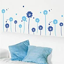 Chrysanthemum DIY Peel amp Stick Wall Decal BabyNursery Wall Sticker DecalsONLY001 navy blue