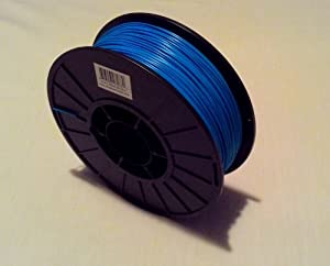 Filament Outlet Blue PLA 1.75mm 3D Printer Filament 1kg (2.2lbs) spool USA from Filament Outlet