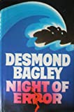 Night of Error (0002227924) by DESMOND BAGLEY