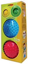 Edushape Soft Sensory Ball Mega Pack  Set of 4 Assorted