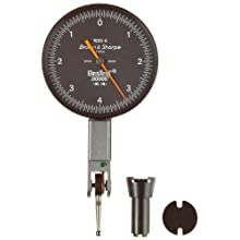 Brown &amp; Sharpe Bestest -5 Series Dial Test Indicator Set, Inch, M1.4x0.3 Thread