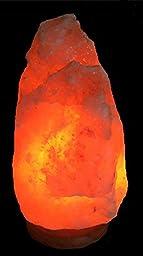 JIC Himalayan Natural Ionic Air Purifier Rock Crystal Salt Lamp #8