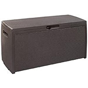 Keter 207818 70 Gallon Rattan Deck Box (Discontinued by Manufacturer)