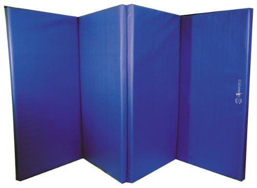 kimokoe sureshot fd50 tapis de gymnastique pliable bleu