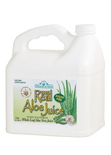 Real Aloe Juice , Miracle of Aloe, Made From Organically Grown Aloe Vera Leaves 100% Purified & Filtered , 1 Gallon, Livera seltzer, liveraseltzer orange megaclienteDietary Supplement (Aloe Arborescens Juice compare prices)
