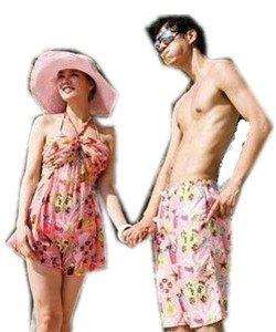 Fashion Couple Swimwear & Beachwear Swimsuit Bikini 128