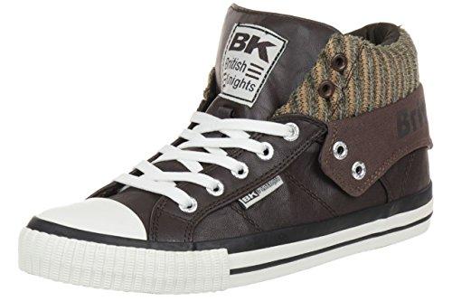 British Knights ROCO BK Damen Sneaker B34-3743-03 dunkelbraun, Schuhgröße:EUR 36