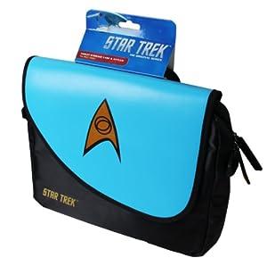 ORB Star Trek Messenger Bag for Upto 10 inch Tablet - Science Blue