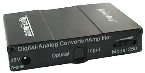 Great Deal! Digital-to-Analog Converter and 80 Watt Stereo Amplifier Model 250 Black
