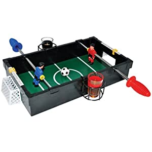 Penalty Shots - Party Game - Fun and Quirky Gift for Him - Football Gift - Football Penalty Game - Fusball Games - Table Top Football Game - Drinking Game