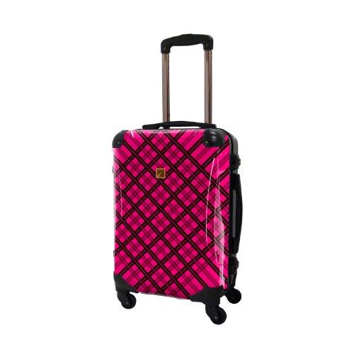 キャラート アートスーツケース ベーシック ベーシック スペースチェック 4輪 機内持込 (CRA01-022E(ブラック×ピンク))
