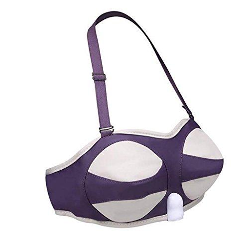 G&M Breast Vacuum Pumps Breast Vibrating Massage Portable Natural purple Vibrating , s