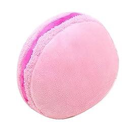 Creazy® Yummy Treats Buttercream Scented Macaroon Microbead Pillow (Pink)