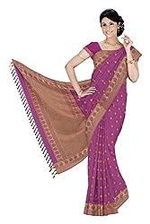 Srinidhi Silks Pink Silk Sari (Ssi 2016 23 B)