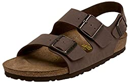 Birkenstock Milano Sandal,Mocha Birkibuc,37 N EU