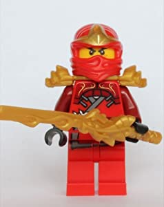 LEGO Ninjago - Kai ZX with Armor and Dragon Sword