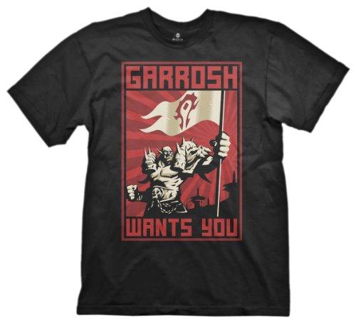 World of Warcraft Garrosh Wants You T-Shirt Small