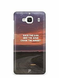 YuBingo Chase The Sunset Designer Mobile Case Back Cover for Xiaomi Redmi 2 Prime